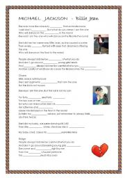 English Worksheets: Michael Jackson - Billie Jean