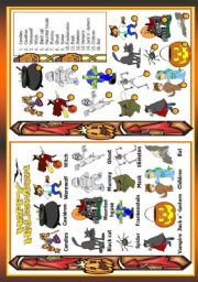 English Worksheets: Holidays - Halloween