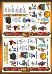 English Worksheet: Holidays - Halloween