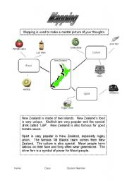 English Worksheets: A guide to mapping