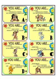 English Worksheet: AWARDS