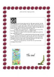 English Worksheets: Jack and the Creeping Stalk