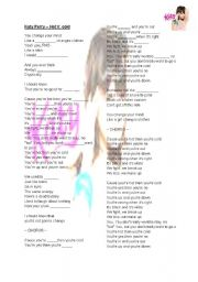 English Worksheet: Katy Perry - Hot�n�Cold