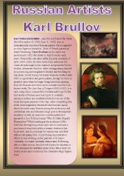 English Worksheet: Russian Artists-Karl Brullov