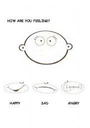 Emotions Esl Worksheet By Negra83