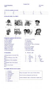 english teaching worksheets tests and exams. Black Bedroom Furniture Sets. Home Design Ideas