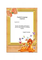 English Language Diploma