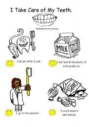 Dental Health/Hygiene Themed WS Set
