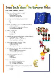 Some facts about the European Union