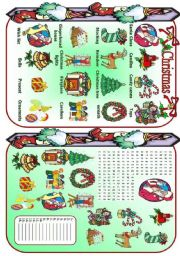 English Worksheets: Christmas