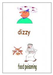 English Worksheets: Ailments