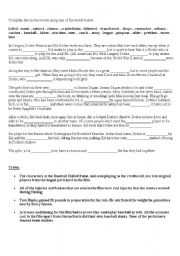 English Worksheets: Movie Activity - A League of Their Own