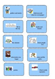 English Worksheets: * Vocabulary revision and brainstorming game # 4*