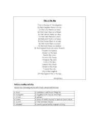 English Worksheets: This is the Key