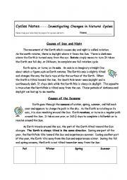 English worksheets: the Seasons worksheets, page 47