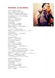 Download la isla bonita sheet music sheet music plus.