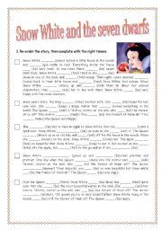 REVISING TENSES: SNOW WHITE AND THE SEVEN DWARFS
