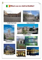 English Worksheet: What can we visit in Dublin?(1)