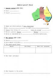 English Worksheets: Rabbit-Proof Fence
