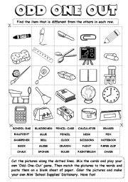 math worksheet : english teaching worksheets odd one out : Odd One Out Worksheets For Kindergarten
