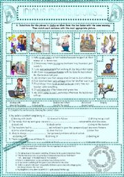 English Worksheets: IDIOMS,IDIOMS,IDIOMS...(4)