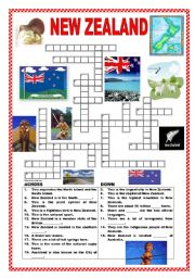 New Zealand crossword