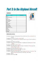 Part 3 - At the Airplane/Aircraft