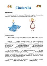 It's just a picture of Gratifying Cinderella Story Printable