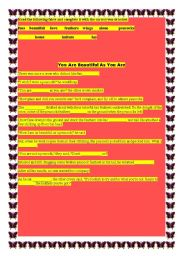 English Worksheets: beautiful