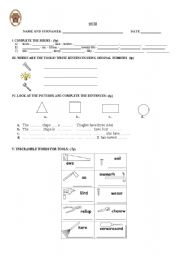 English Worksheet: technical English!...............