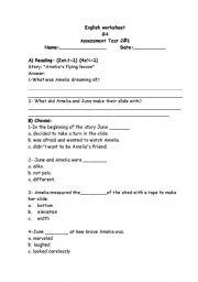 English Worksheets: Grade four worksheet
