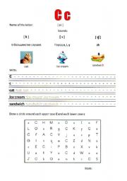 English worksheet: Alphabet Activity