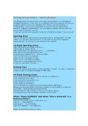 English Worksheets: Message writing