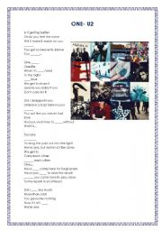 English Worksheets: ONE-U2