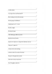 English Worksheets: how to make questions