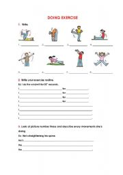 Worksheets Pe Worksheets making exercises