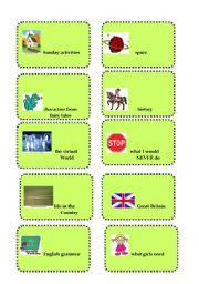 English teaching worksheets: Brainstorming
