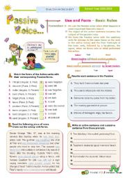 English Worksheet: Introducing the