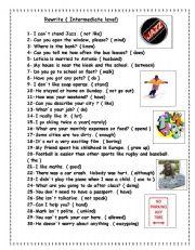 English Worksheets: Rewrite