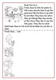 English Worksheets: Verbs actions