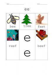English Worksheets: ee worksheet