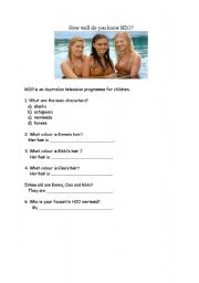 English Worksheets: How well do you know H2O?