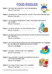 english teaching worksheets riddles. Black Bedroom Furniture Sets. Home Design Ideas