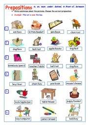 Worksheets Esl Preposition Worksheets english teaching worksheets prepositions of place place