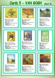 Cards 5 - Van Gogh (Part 2)