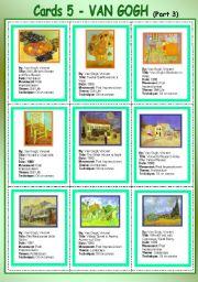 Card 5 - Van Gogh (part 3)