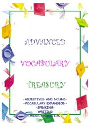 ADVANCED VOCABULARY TREASURY - word games