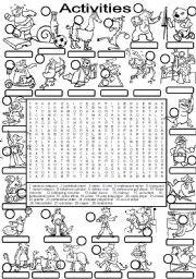 English Worksheet: WORDSEARCH ACTIVITIES - occupations - jobs