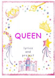 English Worksheet: QUEEN - working with lyrics