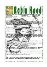 Robin Hood  Exercises